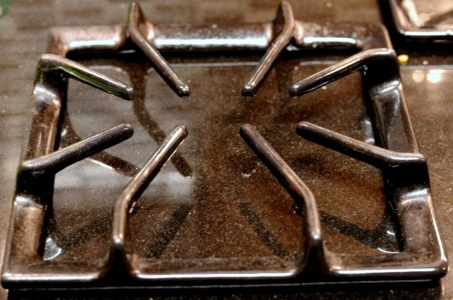 how to clean oven grates with ammonia