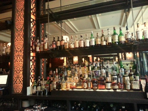 Great collection of spirits.